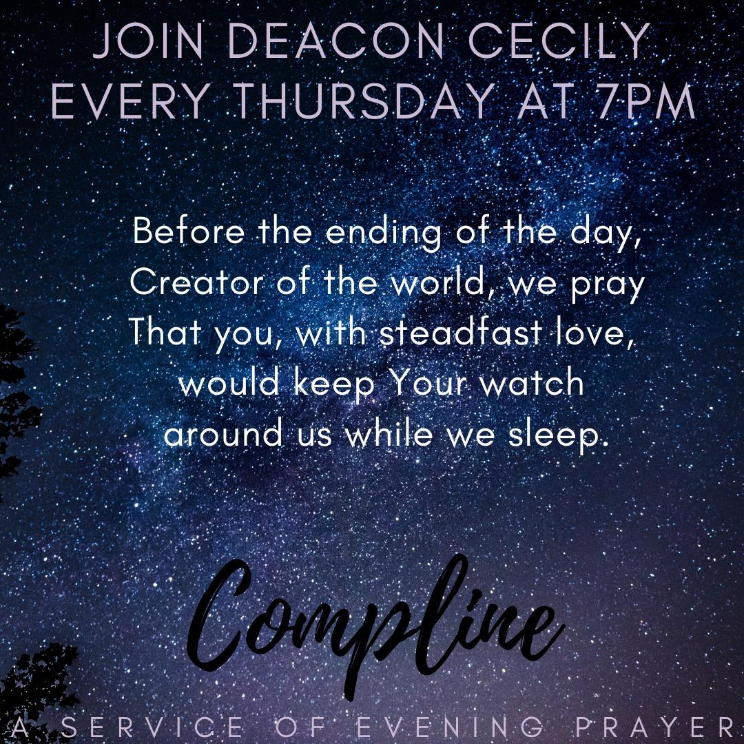 Compline Prayer on Thursdays
